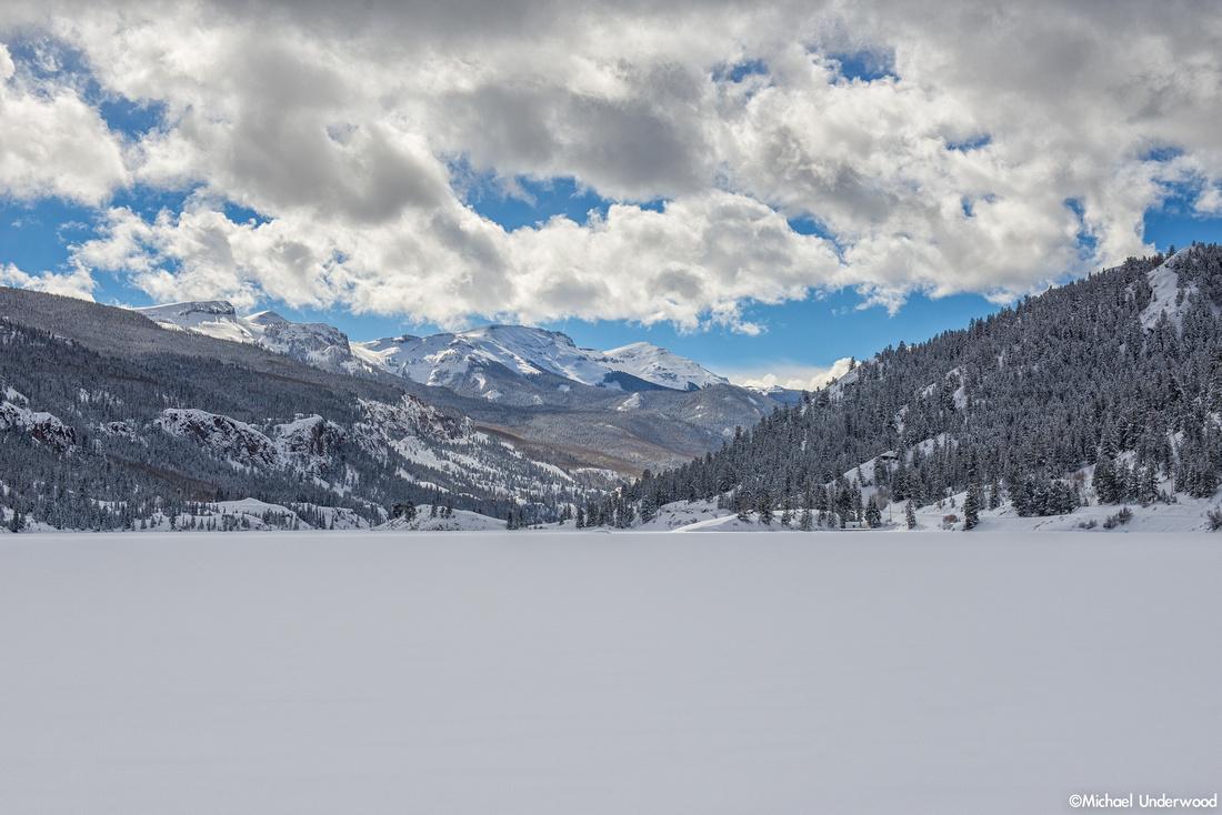 Winter at Lake San Cristobal