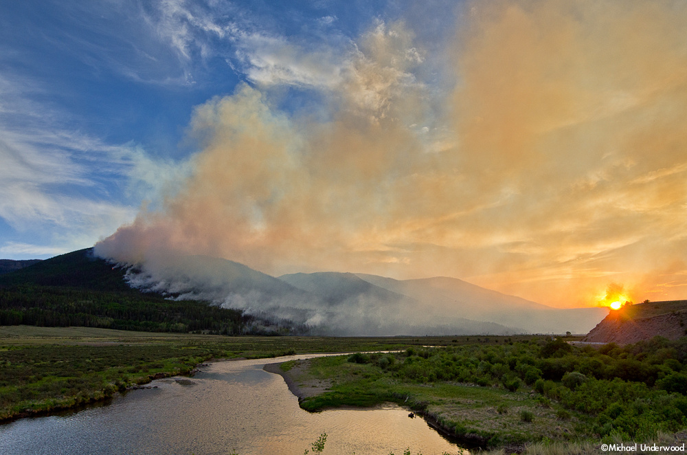 The Papoose Fire and the Rio Grande
