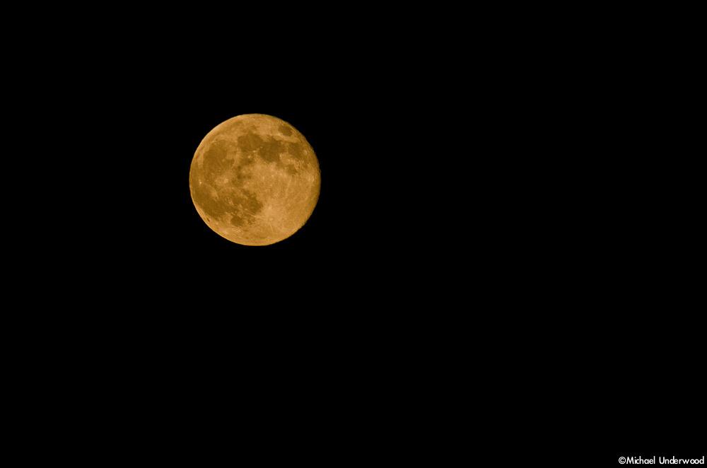 Moon through Smoke
