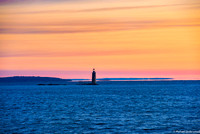 Ram Island Light Sunrise