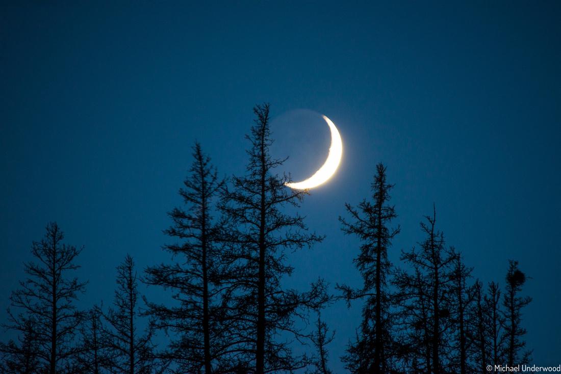 Slumgullion Moonset
