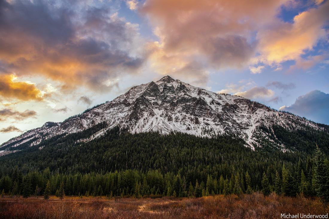 Mt Republic at Sunrise