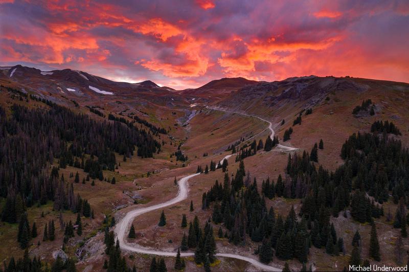 Engineer Pass Sunset