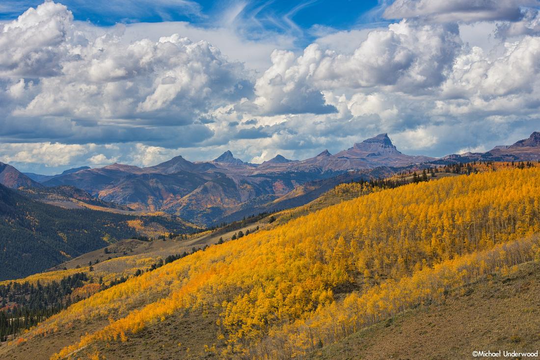 Uncompahgre Range in Autumn