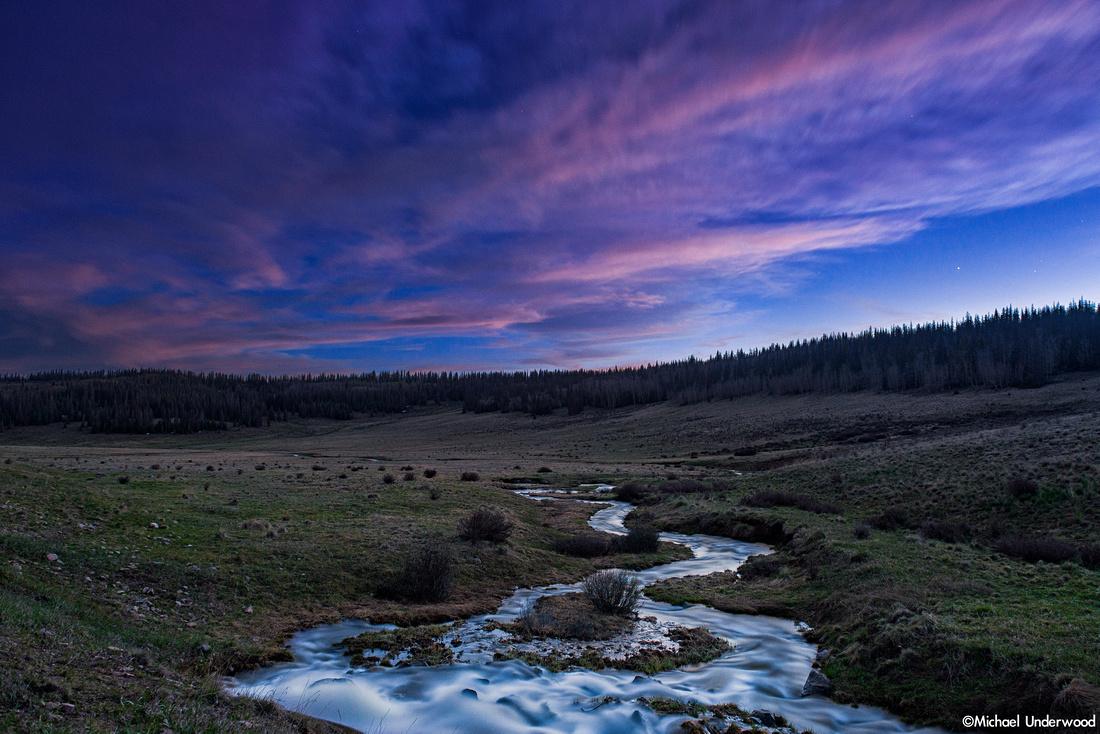 Spring Creek at Twilight