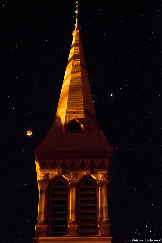 Lunar Eclipse and Church