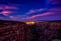 Red Canyon Lights