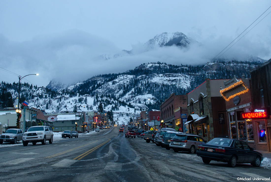 Twilight in Ouray