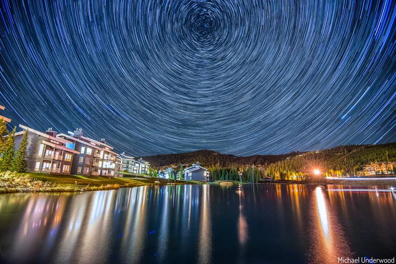 Night in Big Sky