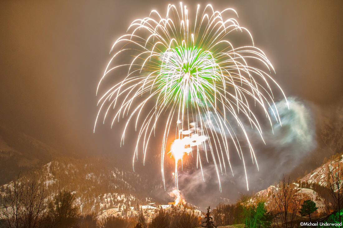 Fireworks and Snow 3