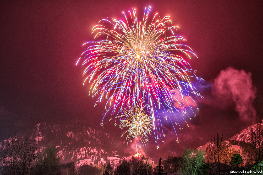 Fireworks and Snow 2