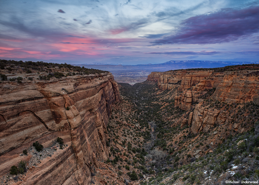 Red Canyon Sunset