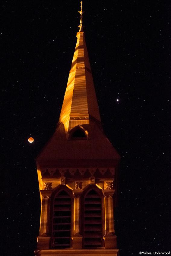Lunar Eclipse and Church
