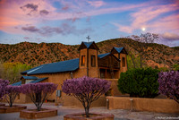 Chimayo Easter Sunset
