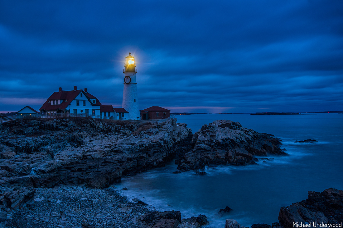 Portland Head Light at Twilight