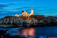 Nubble Light Christmas