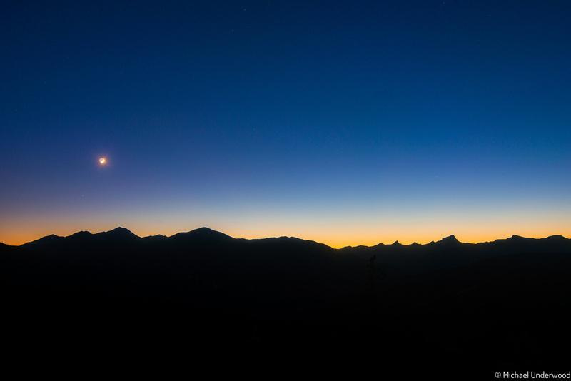 San Juan Moonset